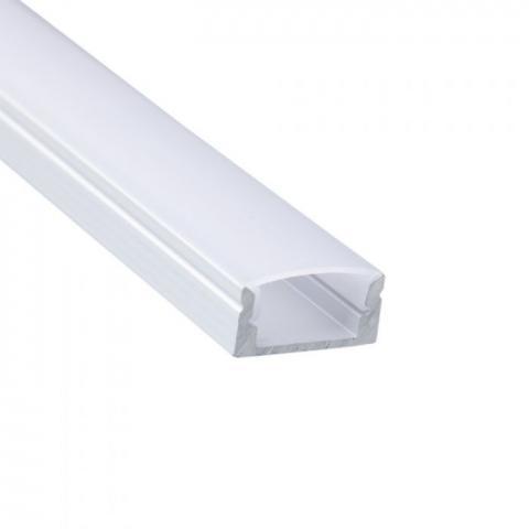 Profil Led Natynkowy Aluminiowy Okragly Mleczny 2m Sklep Leddo