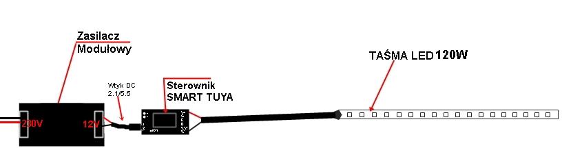 Schemat podłączenia: