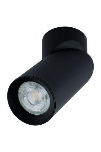 Lampa sufitowa TABULA SPOT TUBA reflektor oprawa halogenowa skośna do LED 1x GU10 LUMILED