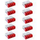 10x Złączka instalacyjna 4x2,5mm 2273-204 WAGO