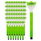 Zestaw 48x lampa ogrodowa LED solarna wbijana TULIPANEK zielony Polux