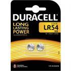 Baterie alkaliczne guzikowe DURACELL LR54 G10 LR1130 1.5V Blister 2szt