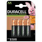 AKUMULATORKI Baterie Duracell RECHARGEABLE AA 2500MAH HR6 Blister 4szt