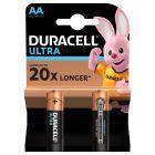 Baterie Alkaliczne Duracell ULTRA AA LR6 Blister 2szt