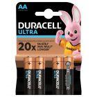 Baterie Alkaliczne Duracell ULTRA AA LR6 Blister 4szt
