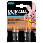 Baterie Alkaliczne Duracell ULTRA AAA LR03 Blister 4szt