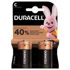 Baterie Alkaliczne Duracell Basic C LR14 Blister 2szt