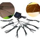 Lampki SOLARNE LED POLUX pod Parasol Ogrodowy