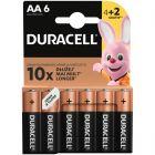 Baterie Alkaliczne Duracell Basic AA LR6 MN1500 1.5V Blister 6szt