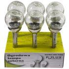 Zestaw 6x Lampa Ogrodowa SOLARNA KULA XXL SG308S 6500K Inox Polux