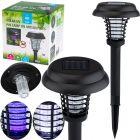 Lampa wbijana SZPIKULEC 43cm ogrodowa LED solarna UV odstraszająca owady