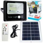 Naświetlacz Lampa ogrodowa solarna LED 40W 3000lm 6000-6500K z czujnikiem ruchu IP54