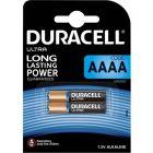 Baterie Alkaliczne Duracell ULTRA AAAA E96 LR8D425 1.5V Blister 2szt