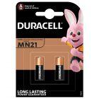 Baterie specjalistyczne DURACELL MN21 A23 V23GA 12V Blister 2szt