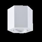 Oprawa natynkowa sufitowa Hexagon GU10 LED ruchoma SPOT biała