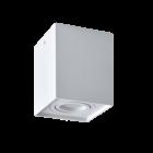 Oprawa sufitowa natynkowa Hadar Q1 1xGU10 ruchoma kwadrat biała