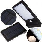 Naświetlacz Solarny LED SLIM 5W 5500-6000K Zimna IP65 Czarny Masterled Czujnik Ruchu