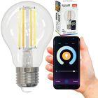 Żarówka LED E27 A60 7W 806lm 2700K-6500K 320° Filament POLUX Smart WiFi TUYA