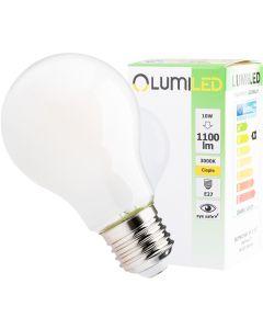 Żarówka LED E27 A60 10W = 75W 1100lm 3000K Ciepła 360° Filament LUMILED