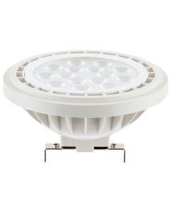 Żarówka LED G53 AR111 15W = 100W 1521lm 3000K Ciepła 38° 12V LUMILED