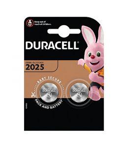 BATERIE Pastylkowe GUZIKOWE Duracell DL-2025 3V Blister 2SZT