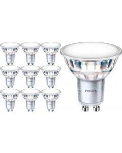 10x Żarówka LED GU10 5W = 50W 520lm 3000K Ciepła 120° PHILIPS