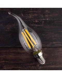 Żarówka LED E14 BA35 7W = 60W 770lm 4000K Neutralna 360° Filament LUMILED