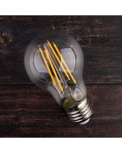 Żarówka LED E27 A60 7W = 60W 770lm 3000K Ciepła 360° Filament LUMILED