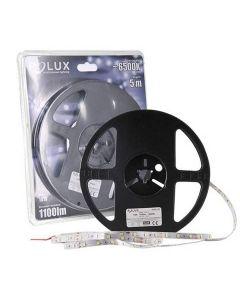 Taśma LED 10W 6500K Zimna 1100lm 300LED SMD IP20 5m 120° POLUX