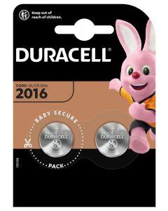 BATERIE Pastylkowe GUZIKOWE Duracell DL-2016 Blister 2SZT