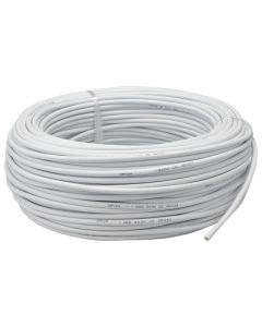 Przewód Kabel OMY 2x0,5mm LINKA BIAŁY 1 METR