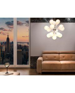 Lampa wisząca Ferrara 3 3x G4 Metal i szkło Lampex kropla + 3x żarówka G4 20W