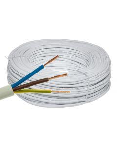 Przewód Kabel OMY 3x0,5mm LINKA BIAŁY 1 METR