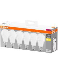 6x Żarówka LED E27 8,5W = 60W 806lm OSRAM 2700K