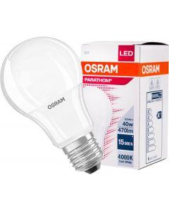 Żarówka LED E27 A60 5,5W = 40W 470lm 4000K Neutralna 300° OSRAM Parathom
