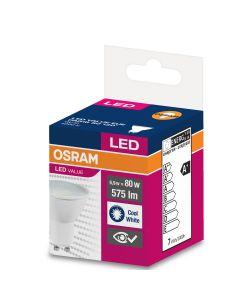Żarówka LED GU10 6,9W = 80W 575lm 4000K Neutralna 120° OSRAM Value