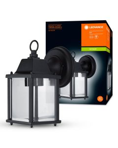 Kinkiet Ogrodowy LED E27 Oprawa Latarnia Czarna ENDURA CLASSIC LANTERN LEDVANCE