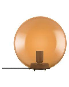 Lampka stołowa szklana VINTAGE 1906 E27 BUBBLE TABLE 25cm ORANGE pomarańczowa LEDVANCE