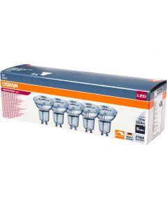 Żarówka LED GU10 HALOGEN 5,5W = 50W 350lm 2700K Ściemnialna PARATHOM OSRAM 5PAK