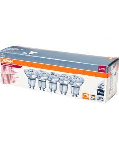 Żarówka LED GU10 HALOGEN 5,5W = 50W 350lm 3000K Ściemnialna PARATHOM OSRAM 5PAK