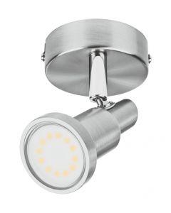 Lampa Oprawa Punktowa Sufitowa Reflektor LED SPOT 1x GU10 Szary 3W 2700K Ciepła LEDVANCE