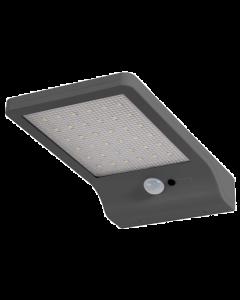 Naświetlacz Lampa Solarna LED Srebrna 3W 4000K Neutralna Czujnik Ruchu i Zmierzchu DOORLED LEDVANCE