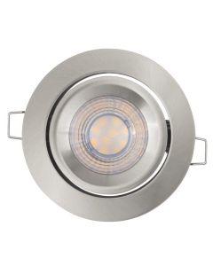 Zestaw 3x Oprawa Sufitowa Halogenowa LED Spot Oczko 3x 5W 2700K LEDVANCE szara