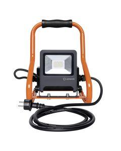 Naświetlacz Roboczy Przenośny LED 20W 4000K + 2x Gniazdo 230V WORKLIGHTS R-STAND Ledvance