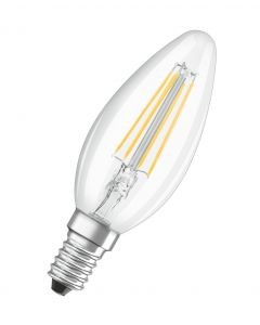 Żarówka LED E14 Świeczka 5W = 40W 470lm 2700K CRI95 OSRAM PARATHOM Filament Ściemnialna