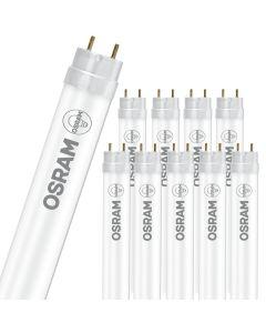 10x Świetlówka LED G13 T8 14W 2100lm 6500K Zimna 190° 1200mm OSRAM Substitube Advanced