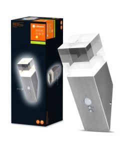 Kinkiet POCHODNIA lampa elewacyjna ścienna 5W 3000K CZUJNIK RUCHU Endura Style CRYSTAL LEDVANCE