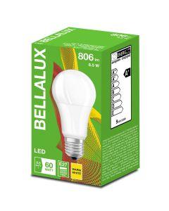 Zestaw 10x Żarówka LED A60 E27 8,5W = 60W 806lm Ciepła 2700K BELLALUX