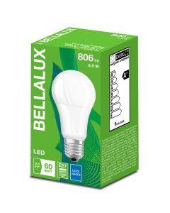 Zestaw 6x Żarówka LED A60 E27 8,5W = 60W 806lm Neutralna 4000K BELLALUX