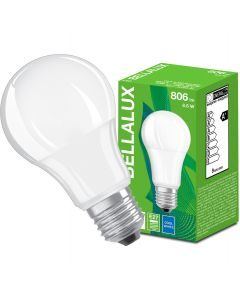 Żarówka LED E27 A60 8,5W = 60W 806lm 4000K Neutralna 200° BELLALUX
